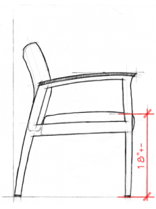 Healthcare Design - Seat Height