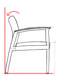 Healthcare Design - Wall Saver Chair